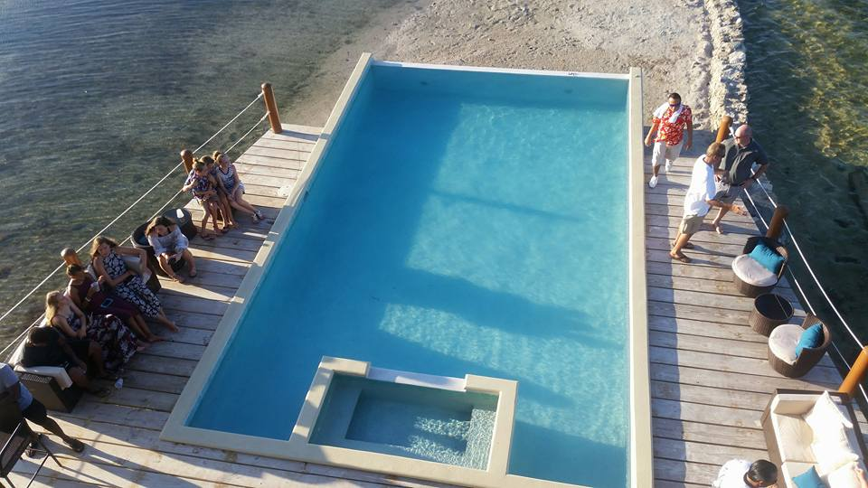 Overwater Hotel Suite